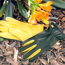 These superb gardening gloves are extremely comfortable and durable, manufactured using a softer very pliable grain leather affording an exceptionally