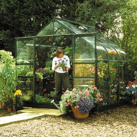 Halls Highgrove Greenhouse and Base