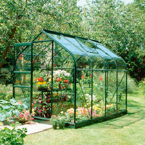 Halls Highgrove Greenhouse & Base - 6'  x 6'