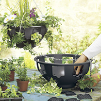 Easy Fill Hanging Baskets