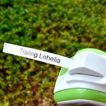 GL-H105 Handlheld Garden Labeller Refill tape - black on green