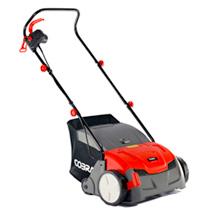 """Cobra 13"""" Electric 2-in-1 Scarifier/Aerator"""
