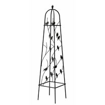 Perching Birds Obelisk