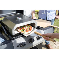 Stainless Steel BBQ Pizza Oven + FREE Pizza Peel
