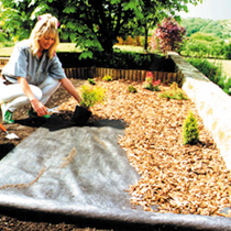 Heavy Duty  Woven Ground Cover - 2m x 10m