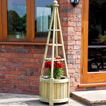 Obelisk Planter