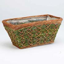 Patio Basket Planters
