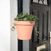 Drainpipe Flowerpot - Red