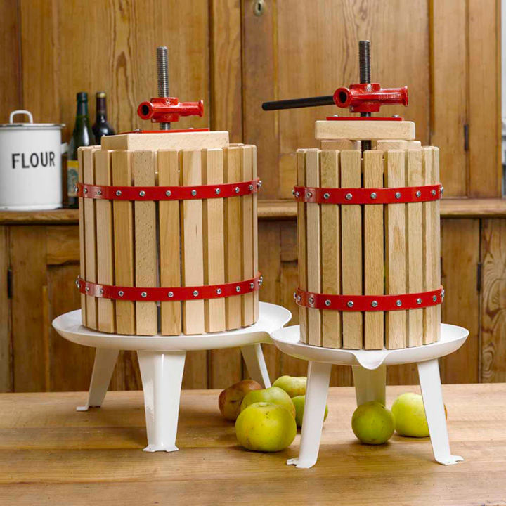 Fruit Press including Pulp Bag & Fruit Mill Crank Handle