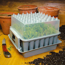 A truly ingenious and well thought out growing system from Sweden which is fascinating and fun to use. Ideal for raising seedlings and rooting cutting