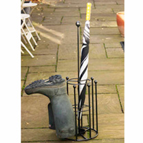 Keep boots and umbrellas neat and tidy! Made from solid steel. Self assembly required. 29. 5cm x 83. 8cm. UK designed and manufactured. Please allow u