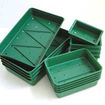 Seed Trays (5) - Quarter size