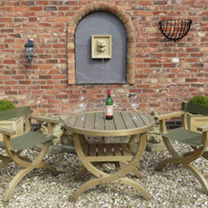 Verona Garden Furniture - Table & 4 Chairs