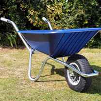 Image of Clipper Wheelbarrow - Blue