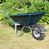 Image of Clipper Wheelbarrow - Green