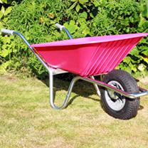 Image of Clipper Wheelbarrow - Pink