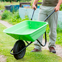Wheelbarrow 90 Litre