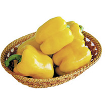 Image of Pepper Seeds - Yellow Bell F1