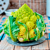 Cauliflower (Organic) Seeds - Romanesco